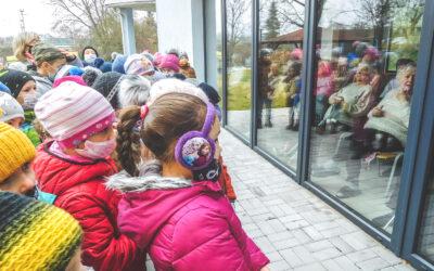15. 1. 2021 Děti malují seniorům, tentokrát k Vánocům 2020